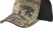 Camouflage Cap with Air Mesh Back